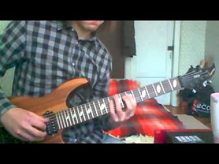 My New Caparison Dellinger 7 (False Shredding by Bagaev Artyom)