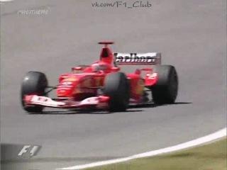 F1 2003. 05. Гран-При (ГП GP) Испании, гонка
