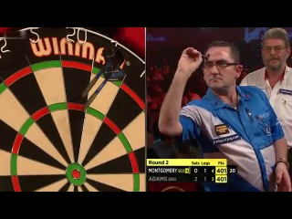Martin Adams vs Ross Montgomery (BDO World Darts Championship 2014 / Round 2)