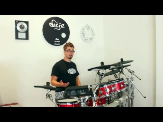ultimate electric drum setup for real drum sounds (superior drummer 2.0 / drum-tec diabolo / td-12)
