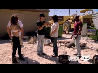 Criss Angel BeLIEve- Criss Impales A Woman With A Spike (On Spike)