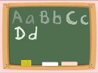 Детская песня ABC. Английский алфавит