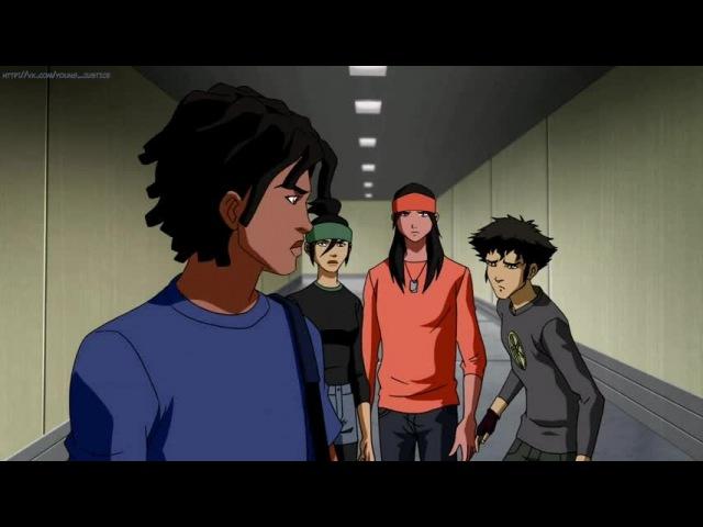 Молодое правосудие 2 сезон 14 серия Юная Лига Справедливости 2 сезон 14 серия Young Justice 2x14 BaSiLL Rus озвучка HD