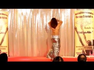 AZIZA of CAIRO -  Entrance - Aini ya Aini 2014 - Rosadela (Valencia - Spain)