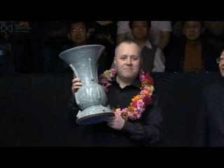 John Higgins David Gilbert Awards Ceremony International Championship 2015