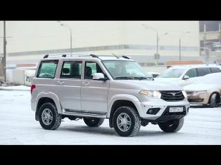 Ульяновский автомобильный завод представил тестовую версию УАЗ ПАТРИОТ с телематическими сервисами.