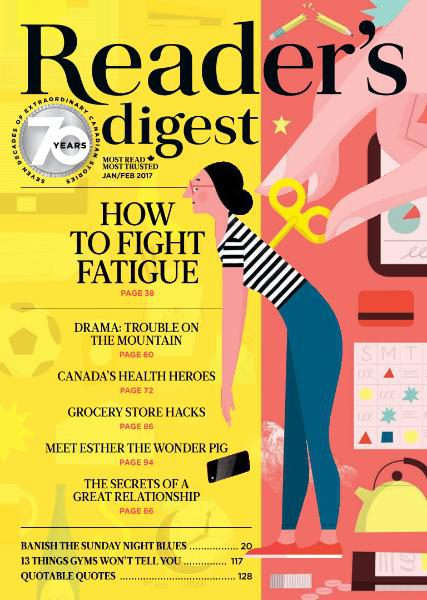 Reader's Digest Canada - January-February 2017 vk.com