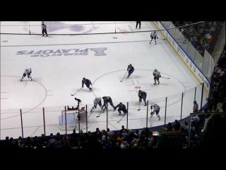 Slava Voynov goal. LA Kings vs St. Louis Blues game 1 4/28/12 NHL Hockey