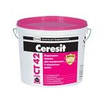 Краска Церезит СТ 42, акриловая водно-дисперсионная для внутренних и наружных работ.