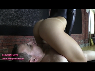 Alexa rydell full weight smother in bondage chair
