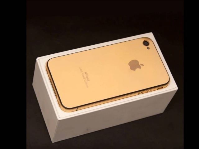 IPhone 4 Gold Edition 24ct