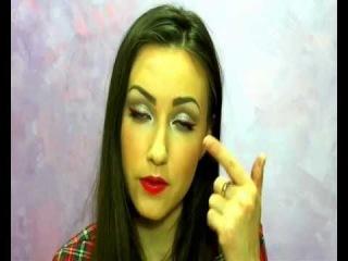 Gosh cosmetics Trend MakeUp  2012 / Трендовый новогодний макияж 2012