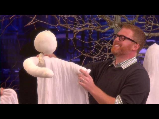 Как сделать призрака из марли