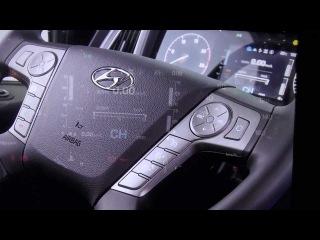 Новый седельный тягач от Хендай! 2013 new hyundai trago !!