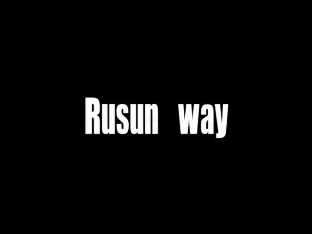 Rusun way-samurai intro 2012