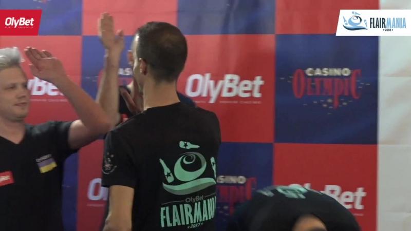 Dario Di Carlantonio OlyBet Flair Mania 2018 Big Ass Move Winner
