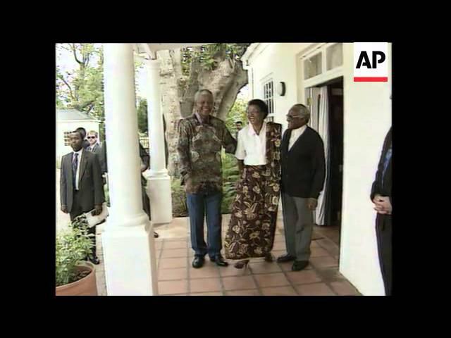 Michael Jackson Visits Mandela Dalai Lama Meets Nelson Mandela President Mandela's Romance With Gr