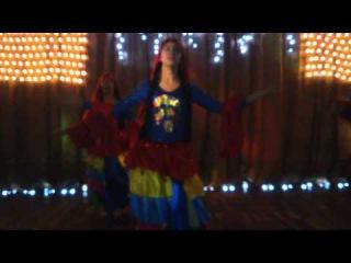 Театр-студия восточного танца Хайат 8 лет. Зажигательный свадебный танец