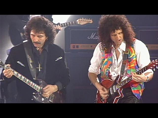 Queen Roger Daltrey Tony Iommi I Want It All 1992 Live