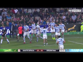 South Africa vs Argentina 2015 Rugby Highlights HD