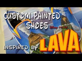 "Disney Pixar ""Lava"" full song & speed painting. Custom painted by Artist Dan-O Florez"