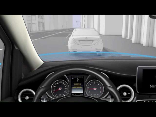 Активная система облегчения паркования с камерой заднего хода Mercedes Benz V Class W447