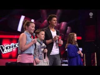The Voice Kids 2014 Patrizia vs Simon vs Helena - Hallelujah