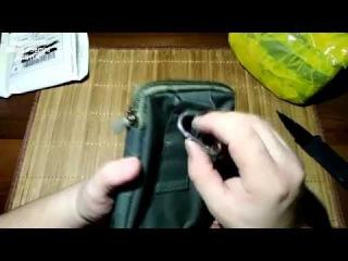 Распаковка, Сумка для Canon EOS и походная чехол-сумка для телефона