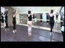 Урок на пуантах в Балетной Школе Реверанс любители