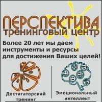 "Логотип Тренинговый центр ""ПЕРСПЕКТИВА"" / Екатеринбург"