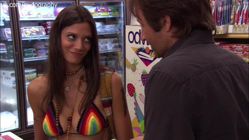 Памела Адлон И Рэйчел Майнер В Трусиках – Блудливая Калифорния (2007)