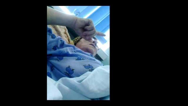Pacienta marturii cutremuratoare la Spitalul Militar Bucuresti