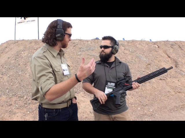 CMMG Mk47 Mutant Full Auto SHOT Show 2015