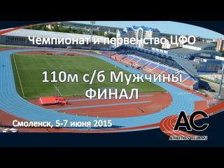 110м с/б - Мужчины ЦФО лето 2015