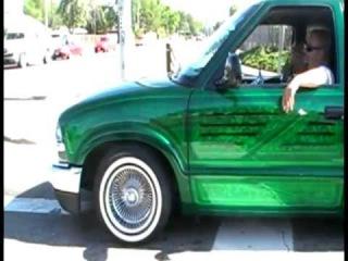BEST OF LOWRIDER  GREEN LOWRIDER TRUCK COLORADO 970 303 719 720