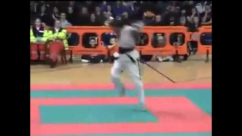 Great control and power tak ja subotom Matej Rožić Naomi Ngo Nwabuisi 😱
