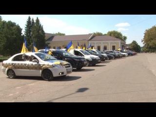 Автопробіг до Дня Незалежності 2015 (Красноград)