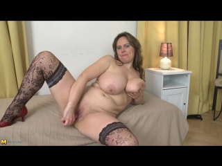 Big Busty Natural Solo Video