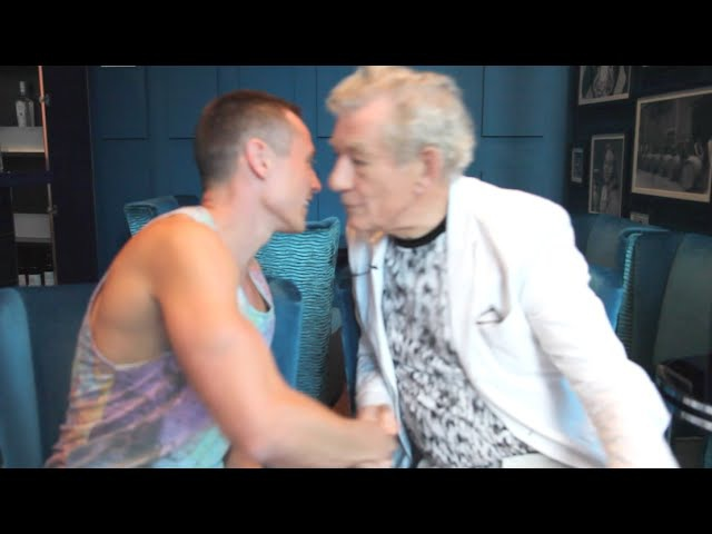 Sir Ian McKellen Davey Wavey's Gay Collab