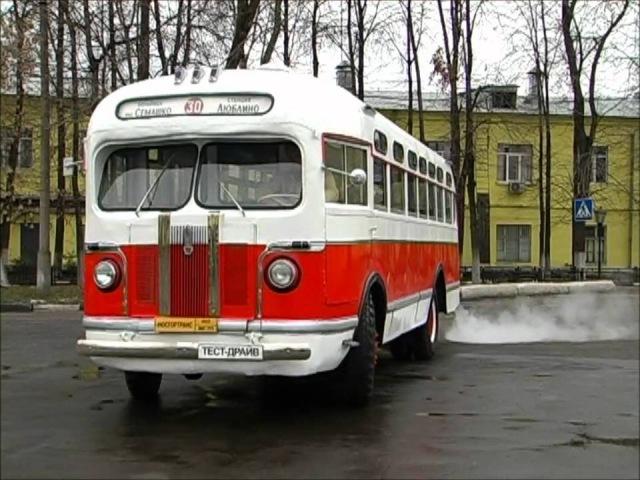 Тест-драйв ЗИС-155