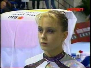 Elena Zamolodchikova - 2001 Cottbus Vault