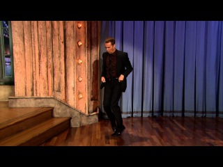 Sam Rockwell Dancing on Late Night with Jimmy Fallon