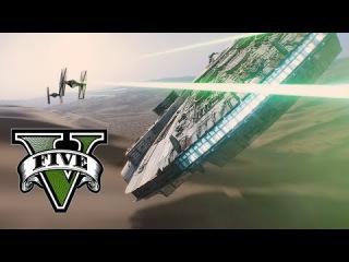 Star Wars VII: The Force Awakens - Remake/Parody in GTA V
