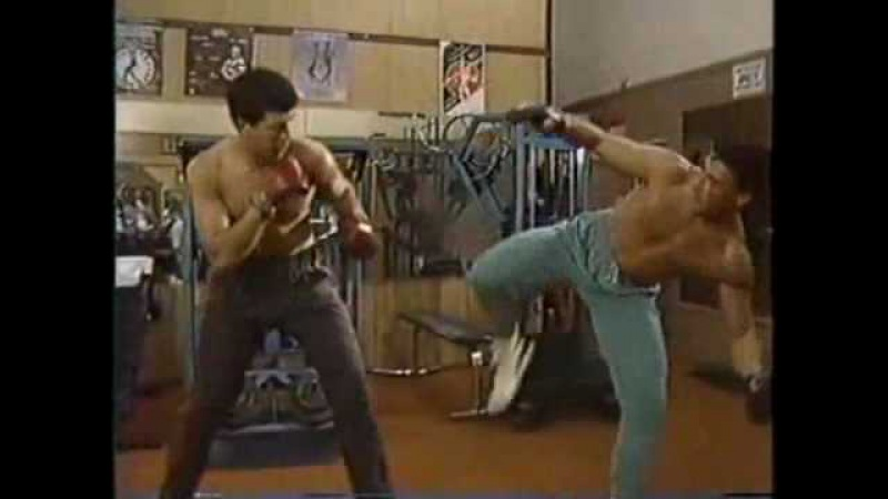 THE TRAINING WITH JEAN CLAUDE VAN DAMME