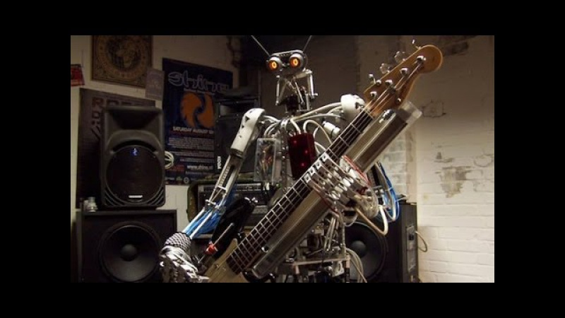 Battle of the Robot Music Bands Z Machines vs Compressorhead