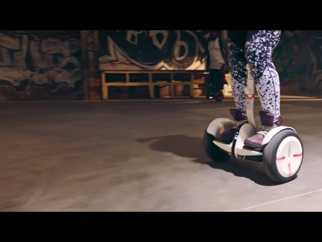 Segway miniPRO Dance Video NEW 4K Resolution 2016