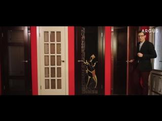 Презентация межкомнатных дверей «Аргус» из массива сосны
