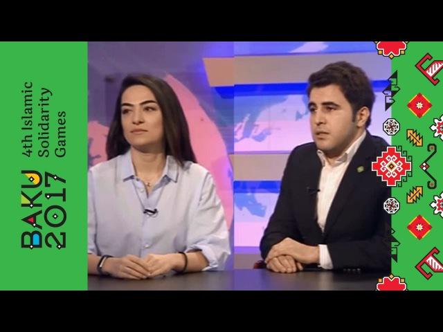 Oyunlara hazırlıq barədə CBC kanalına müsahibə | Bakı 2017