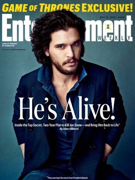 Entertainment Weekly - 13 May 2016 vk.com