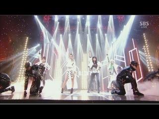  Выступление  2NE1 - COME BACK HOME @SBS Inkigayo.